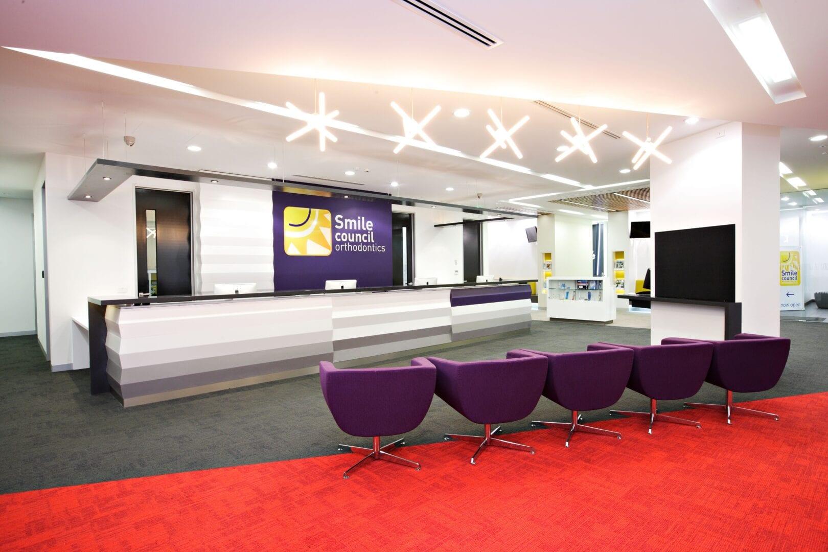 Smile Council Reception area